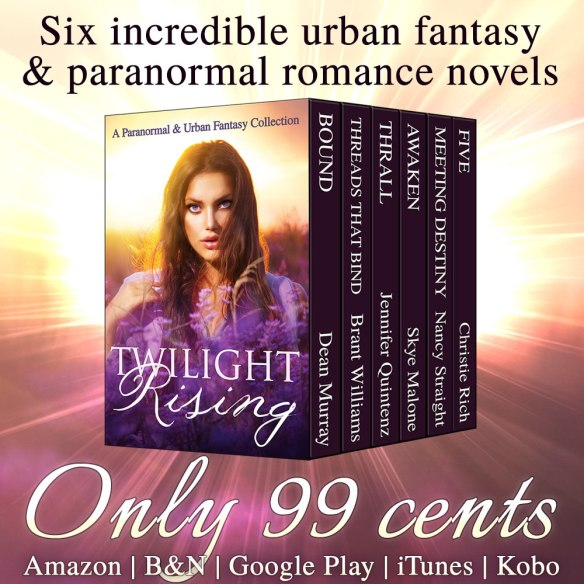 6 incredible urban fantasy and paranormal romance novels for only $0.99!